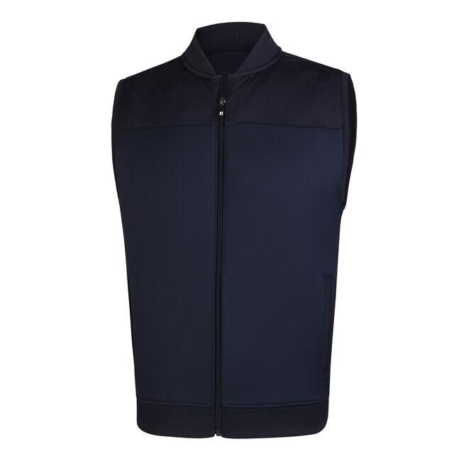 Full Zip Knit Vest-Previous Season Style