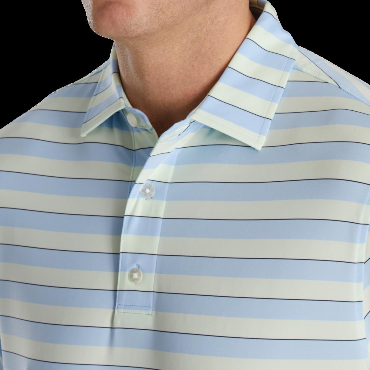 Regency Stripe Lisle Self Collar