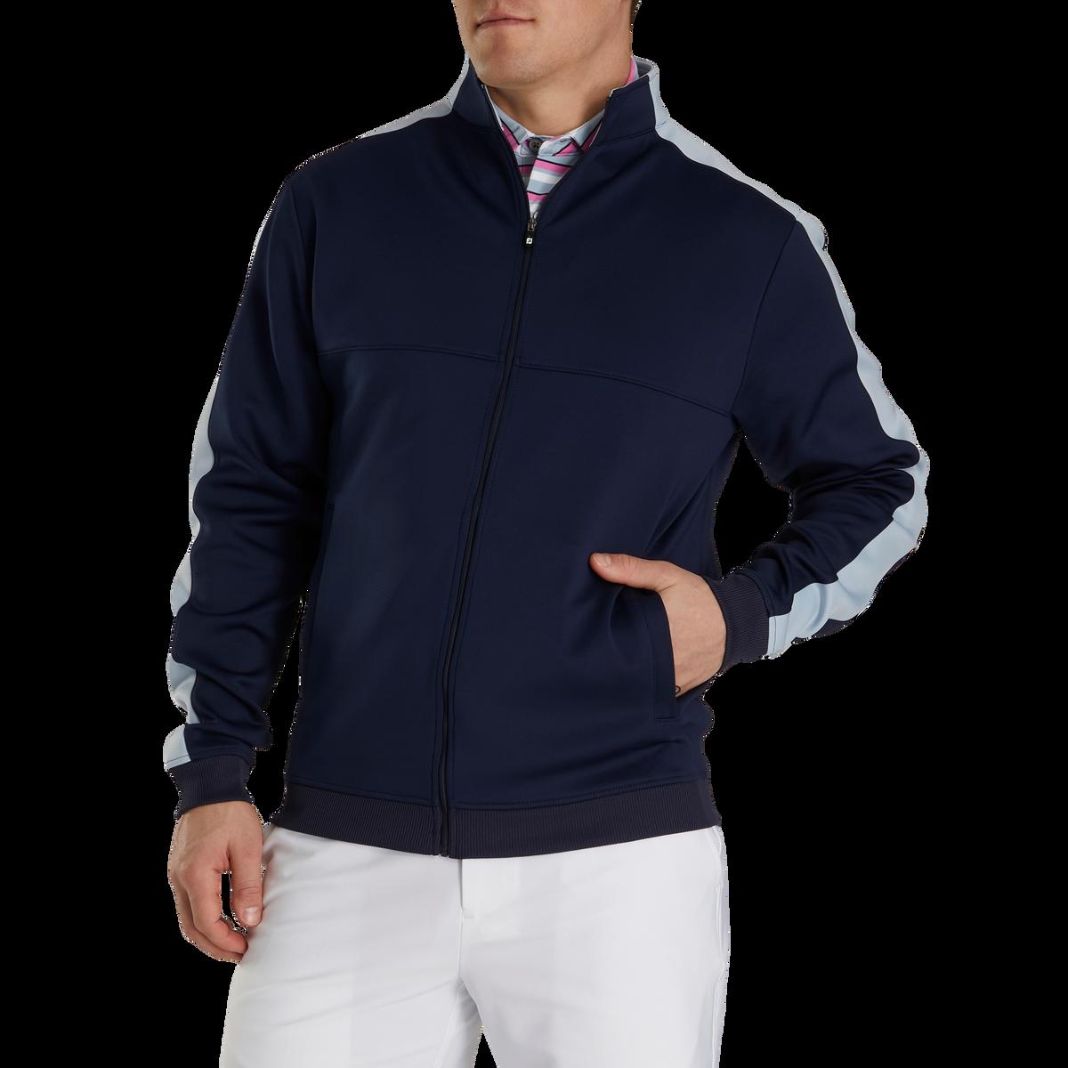 Jersey Knit Track Jacket