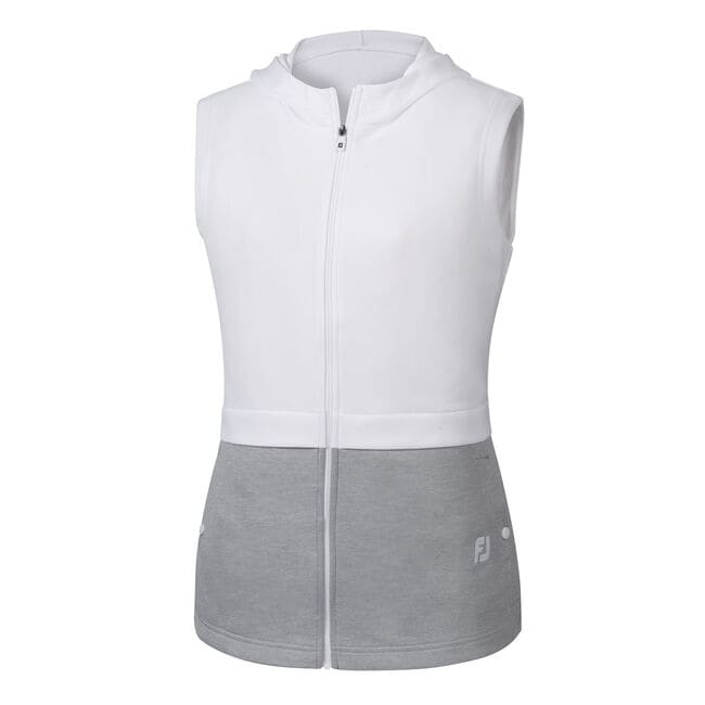 Double Layer Hooded Vest Women
