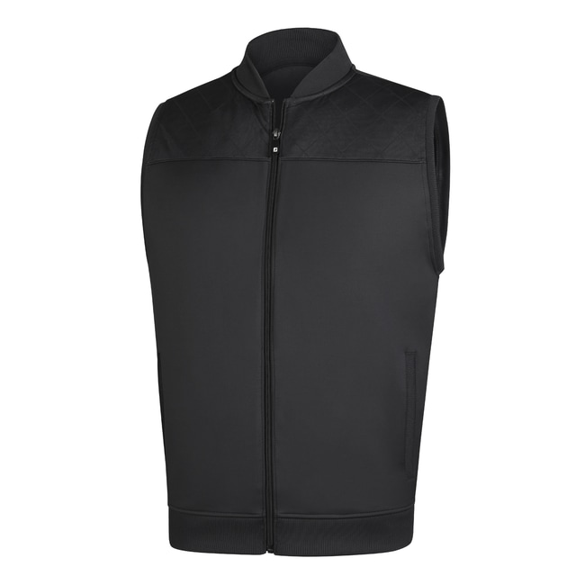 Full Zip Knit Vest-Previous Season Style