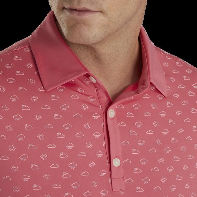 Lisle Weather Print Self Collar