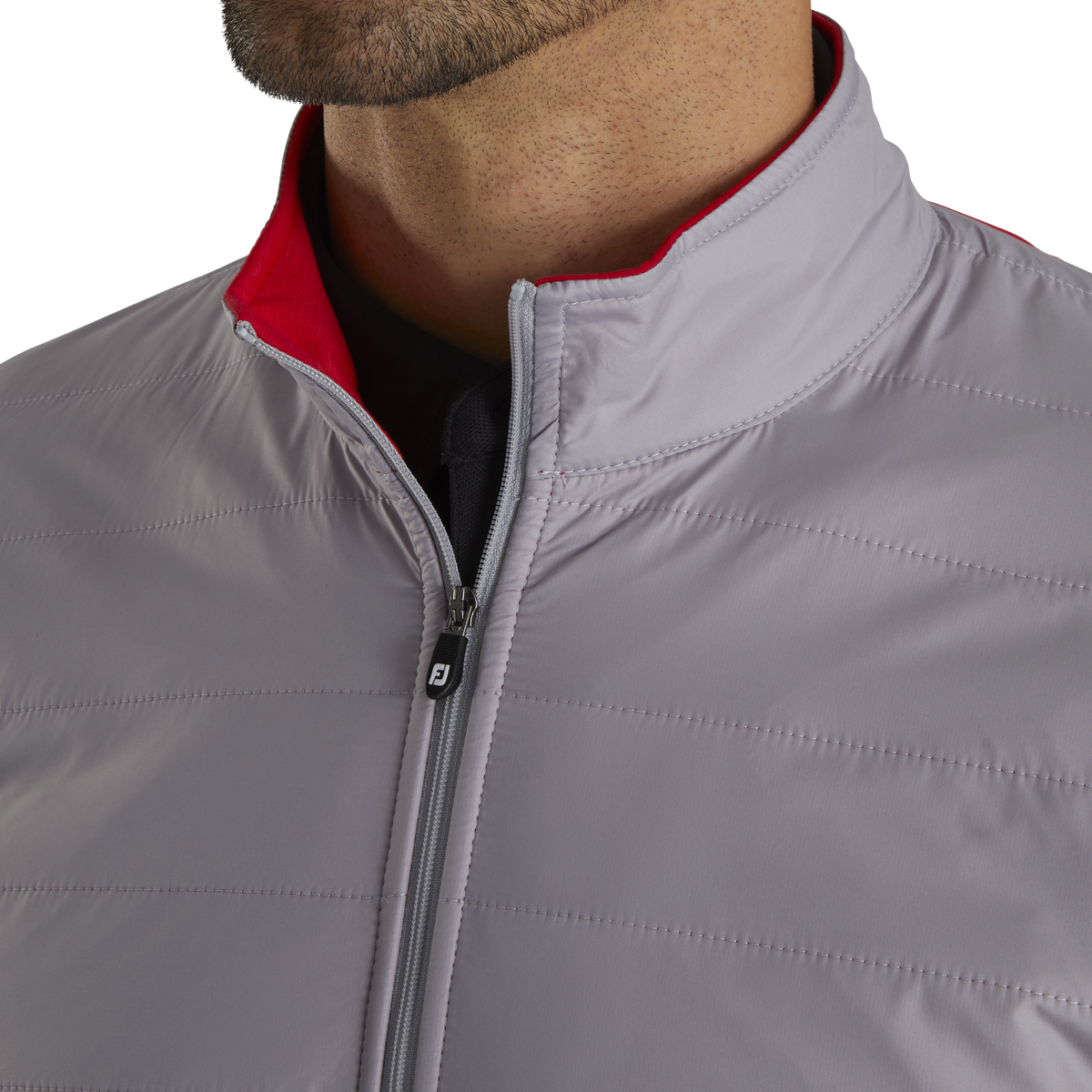 Full-Zip Hybrid Jacket
