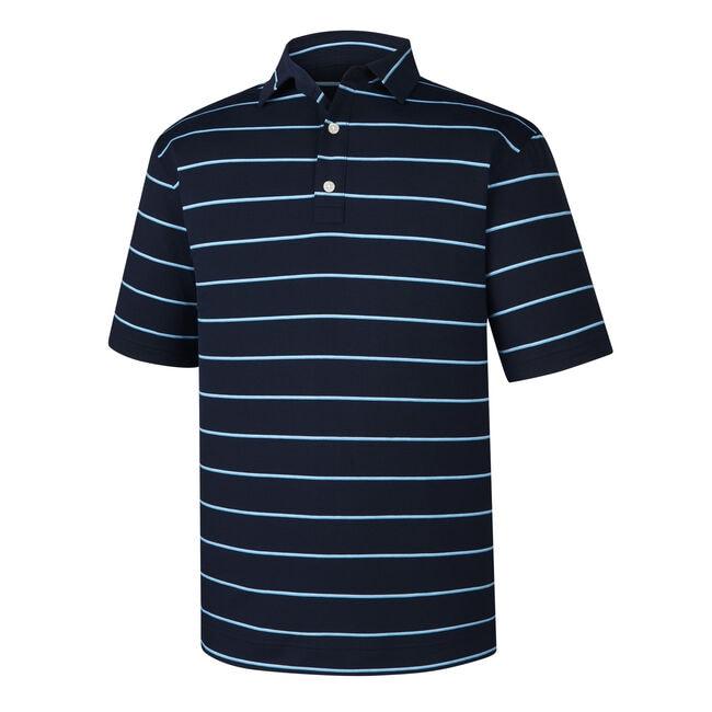 Spun Poly Stripe Self Collar