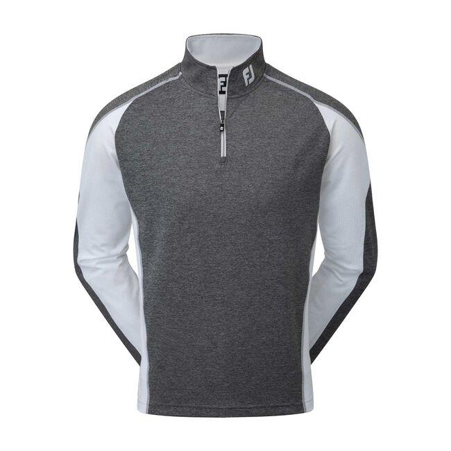 Mixed Texture Half-Zip Pullover-Previous Season Style