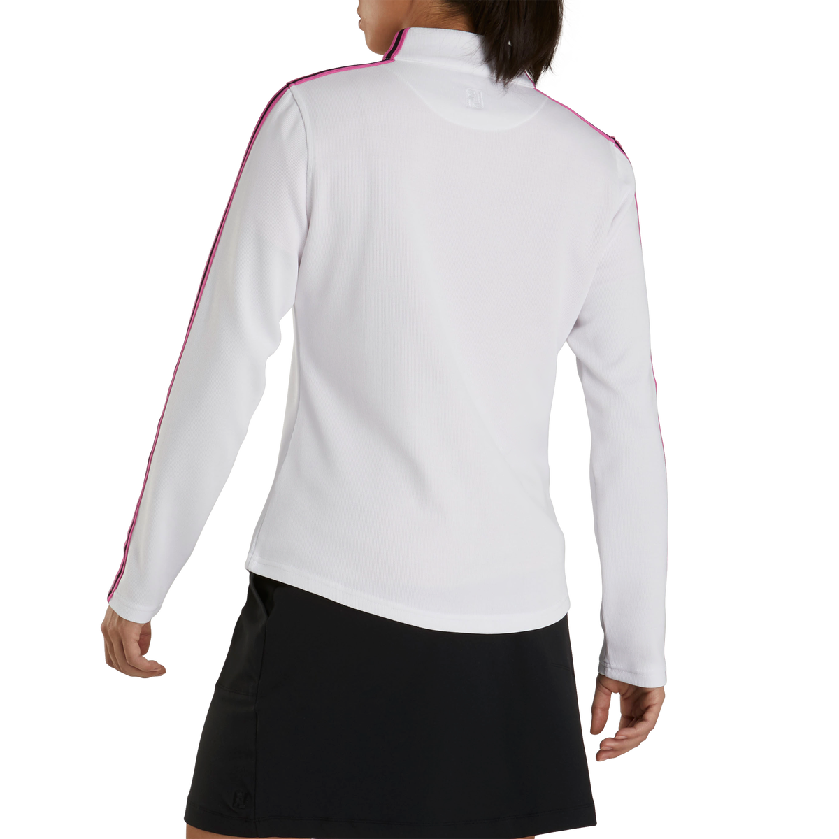 Double Layer Pique Mid-Layer Women