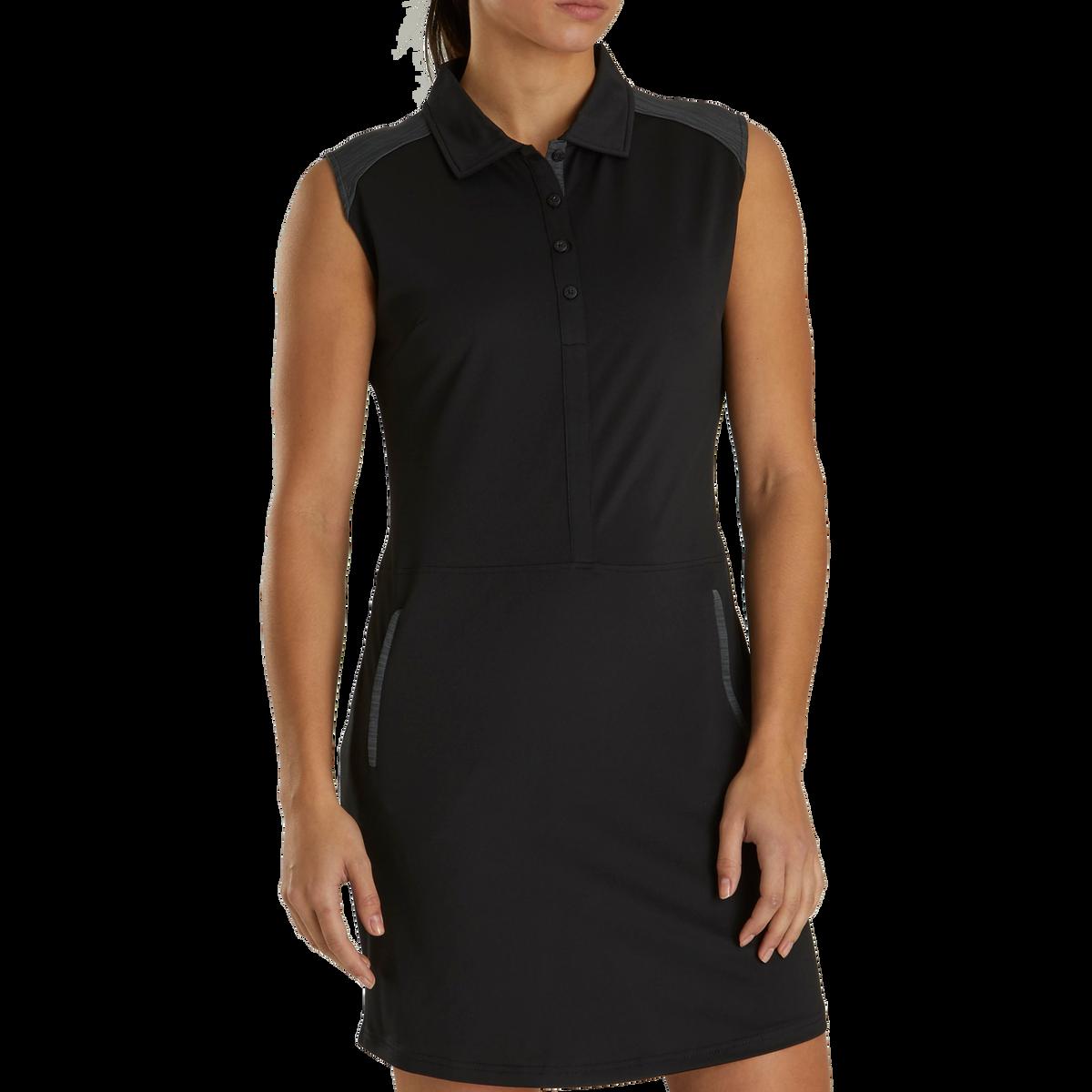 Sleeveless Pique Dress Women