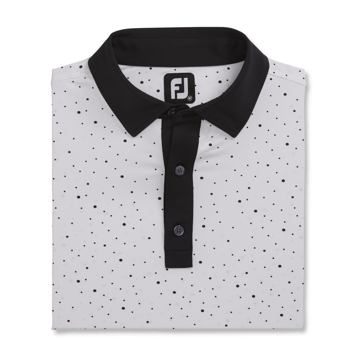 Lisle MultiDot Print Self Collar