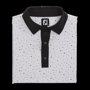 Lisle Multidot Print Self Collar-Previous Season Style