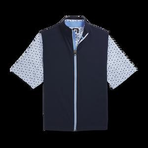 Full-Zip Knit Vest-Previous Season Style
