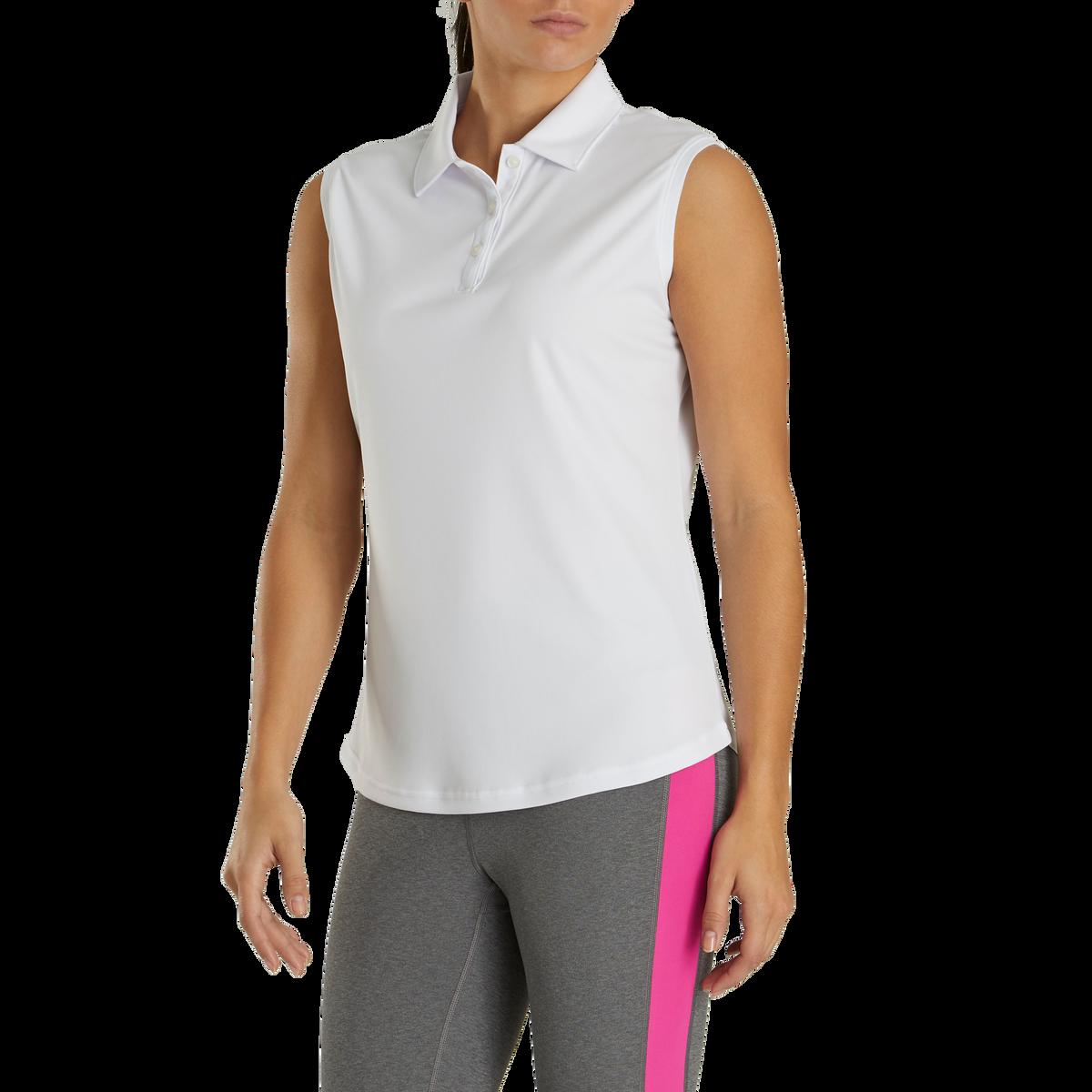ProDry Interlock Sleeveless Shirt Self Collar Women