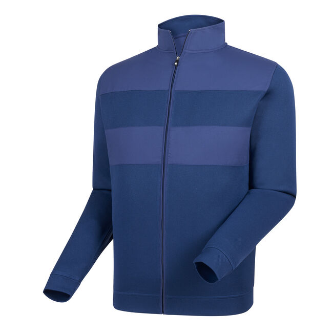Flat Back Rib Full-Zip Mid Layer