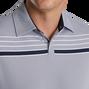 Checker Jacquard Chest Stripe Self Collar