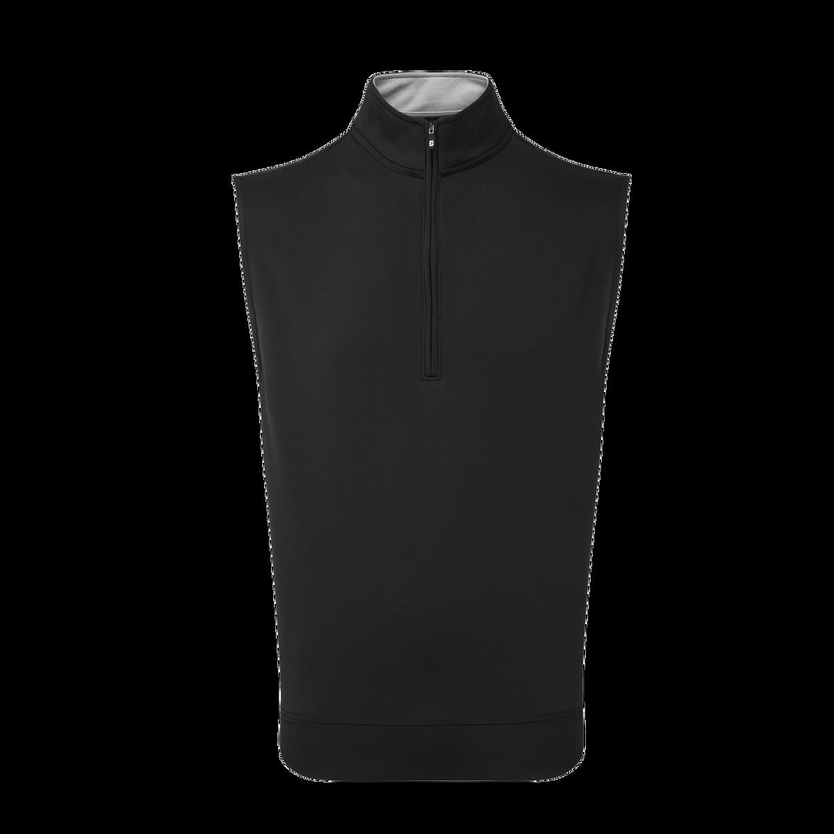 Half-Zip Knit Vest