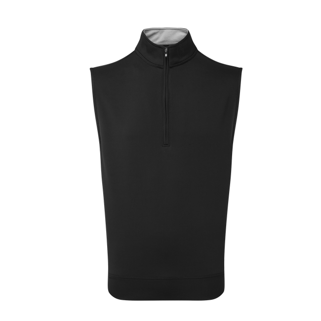 Half-Zip Knit Vest-Previous Season Style