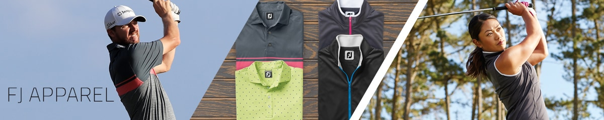 Golf Apparel and Clothes from FootJoy