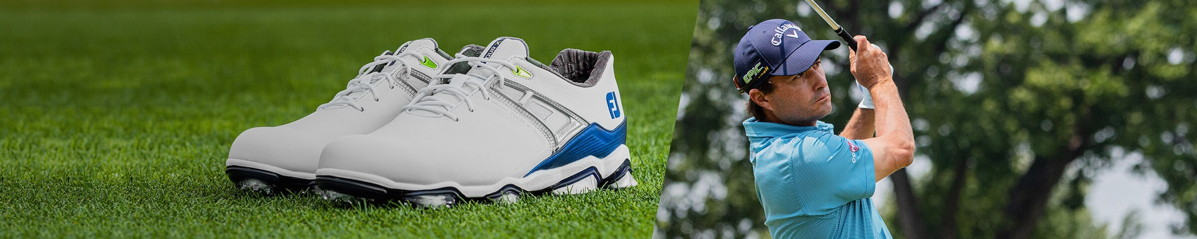 FootJoy Tour X PowerStrap Spiked Golf Shoes
